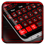 Black Red Keyboard Theme Icon