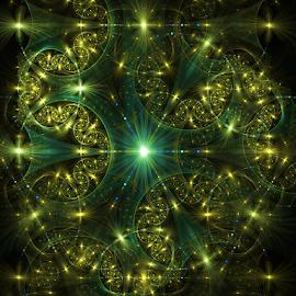 Sparkles by Joy Rittle Stevenson - Illustration Abstract & Patterns ( abstract, digital art, fractal art, computer art, fractal )