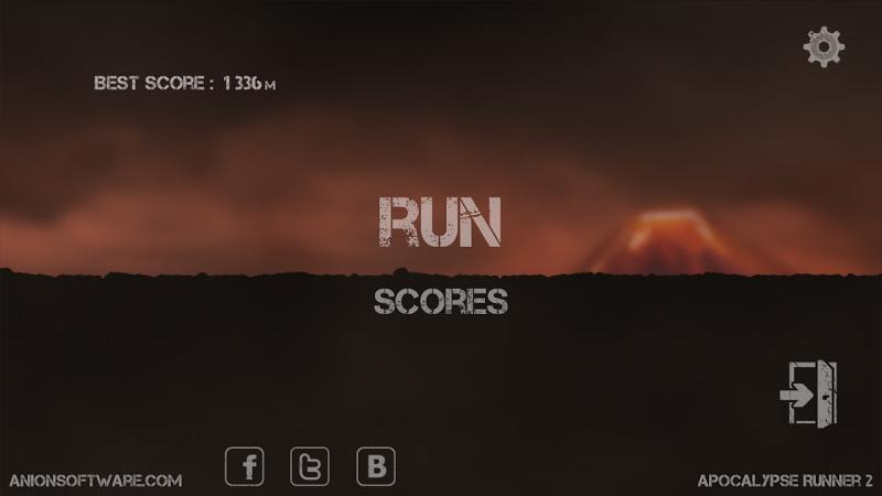 Apocalypse Runner 2: Volcano Screenshot 0