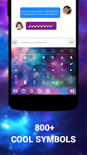 Free Emoji Keyboard Cute Emoticons APK for Windows 8