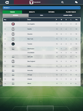 Soccer Manager Worlds APK screenshot thumbnail 13