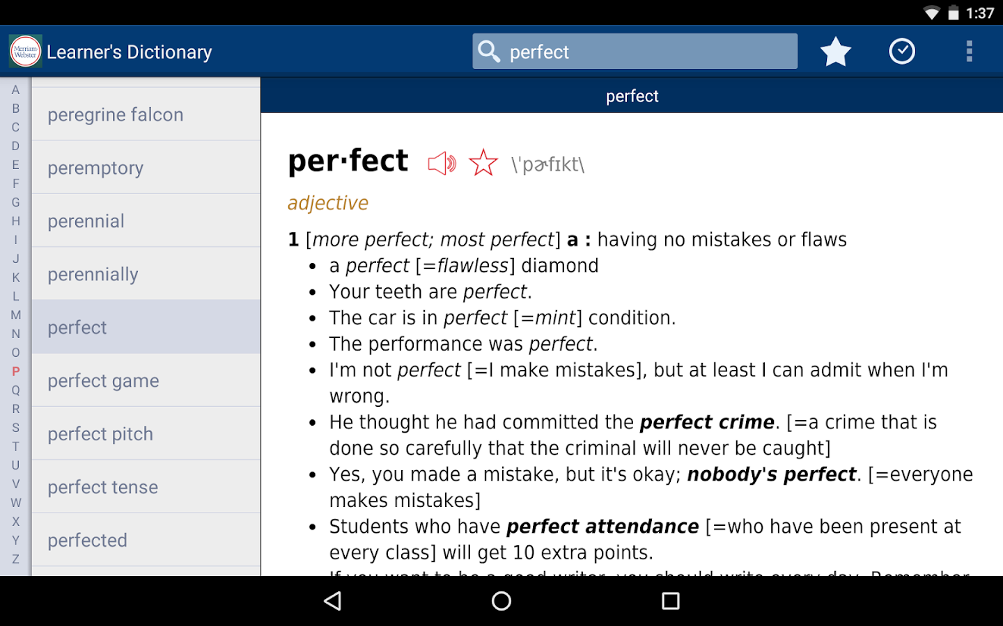Learner's Dictionary - English Screenshot 11