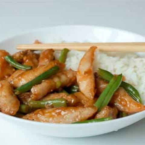Stir Fry Fish with Green Beans