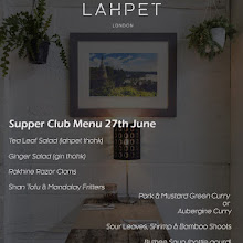Lahpet's Flavours of Burma Supper Club