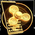 Golden Fidget Spinner Keyboard Theme Icon