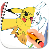 App How To Draw Manga Pokemon Anime APK for Windows Phone