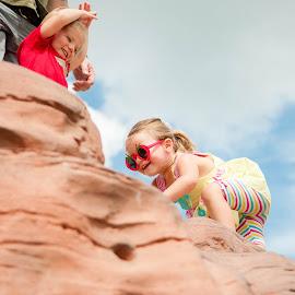 Mini Climbers by Kellie Jones - Babies & Children Children Candids
