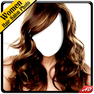 Women Hair Salon Photo Montage