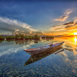 Waiting  by Ipin Utoyo - Landscapes Sunsets & Sunrises