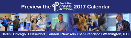 The PAW 2017 Predictive Analytics Conference Calendar