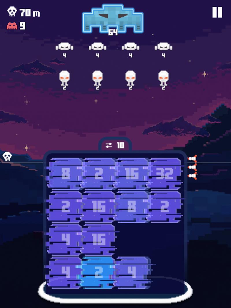 Invaders 2048 Screenshot 8