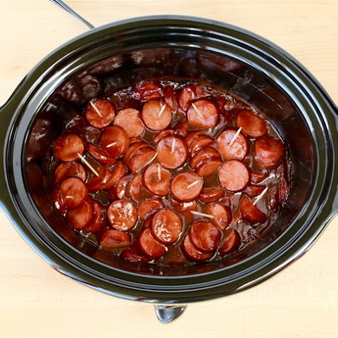 Crock Pot Kielbasa BBQ Ranch