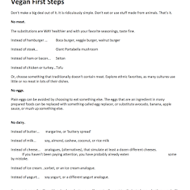 Vegan First Steps by Julie Fitzpatrick - Typography Words ( eat to live, vegan, diet, eat for the planet, compassion )