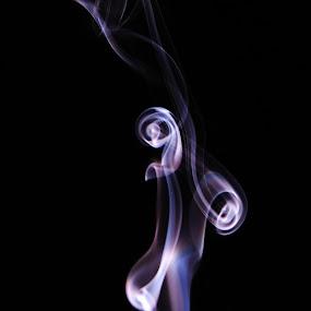 by Simon Lambert - Abstract Fine Art ( abstract, smooth, twist, shape, smoke )
