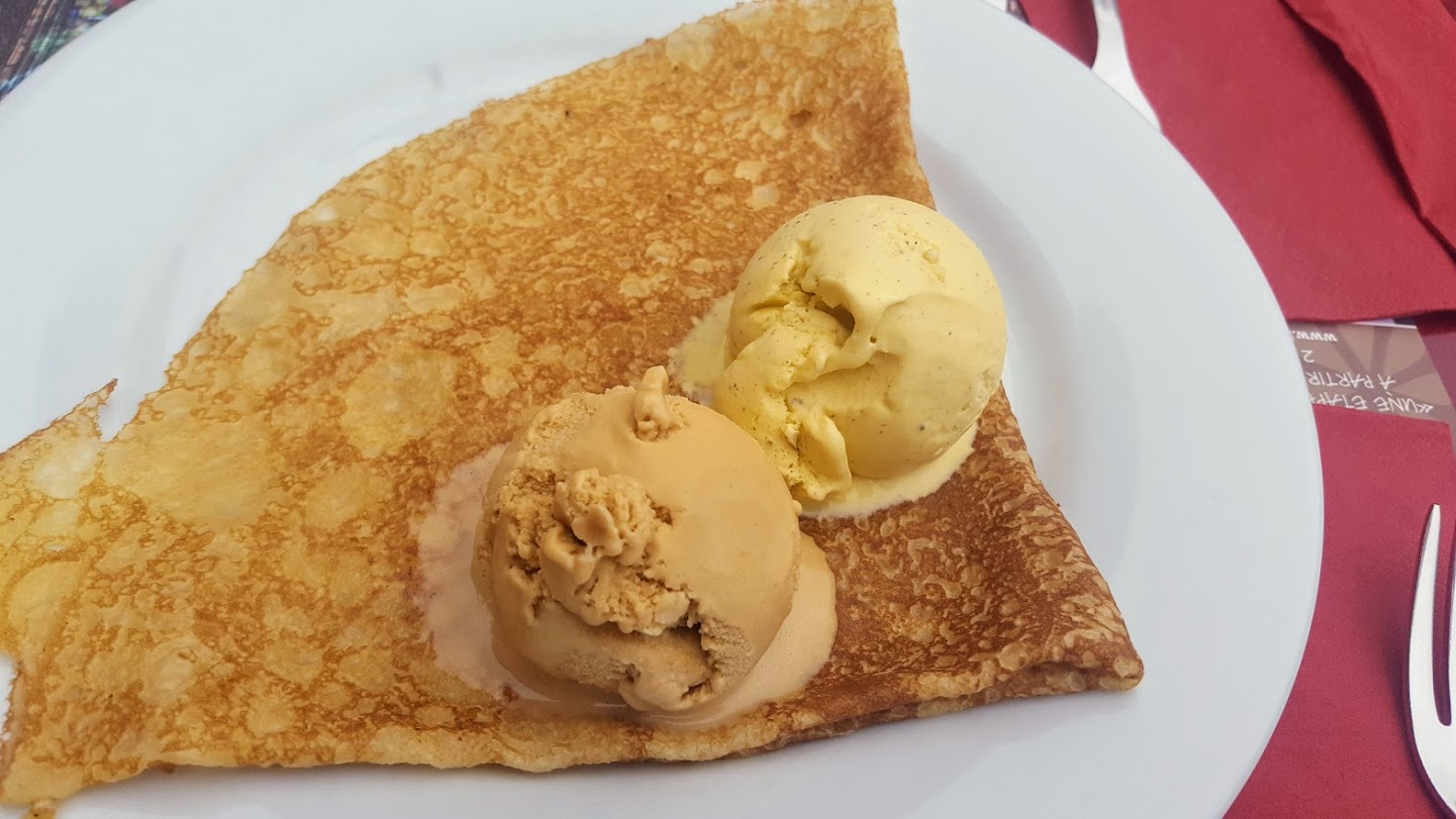 Ice Cream Crepe
