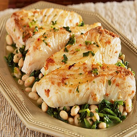 Halibut Skillet Meal