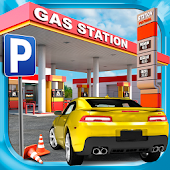 Download Gas Station Car Parking Game APK on PC