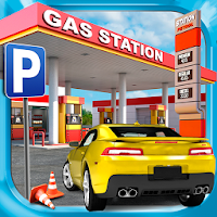 Gas Station Car Parking Game For PC (Windows And Mac)