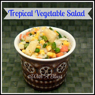 Boiled Vegetables Salad Recipes