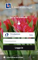 Screenshot of Länsförsäkringar