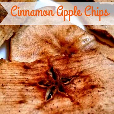 Cinnamon Apple Chips and a Mandoline Giveaway!