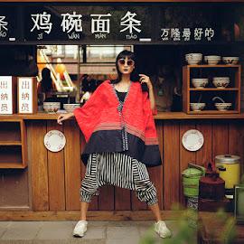 Batik Reunceum by Zoky Zoker - People Fashion ( models, batik, beauty, fashion photography, asian )