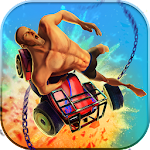 Guts and Wheels 3D Icon