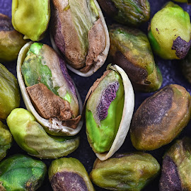 Pistachio Group by Jim Downey - Food & Drink Fruits & Vegetables ( fruit, seed, nut, pistachio, close up )