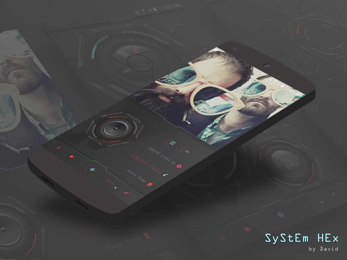 SyStEm HEx for KLWP Screenshot 4