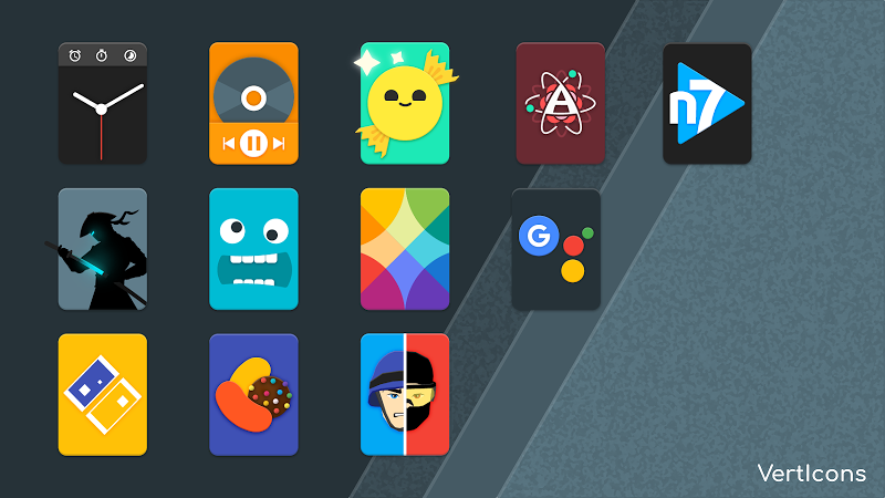 Verticons Icon Pack Screenshot 3