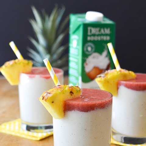 Pina Colada Breakfast Smoothies