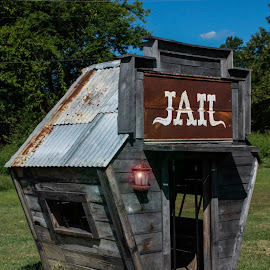 Jail by Ray Ebersole - Buildings & Architecture Architectural Detail