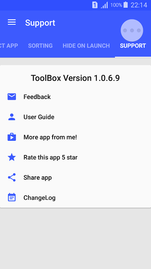Floating ToolBox Pro(Donate) Screenshot 7