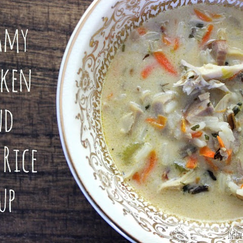 Chicken Soup Rosemary Chicken And Wild Rice Soup