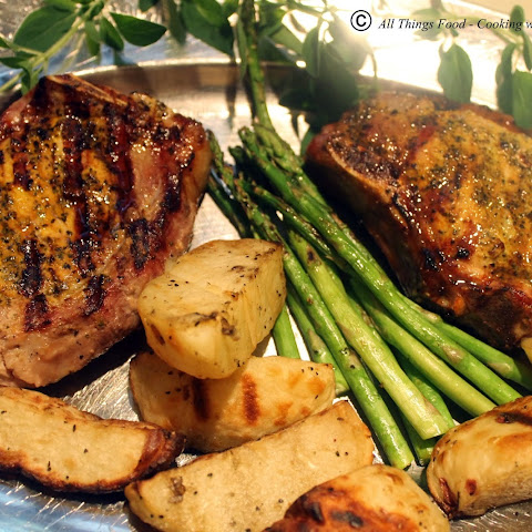 Spice Infused Grilled Pork Chops