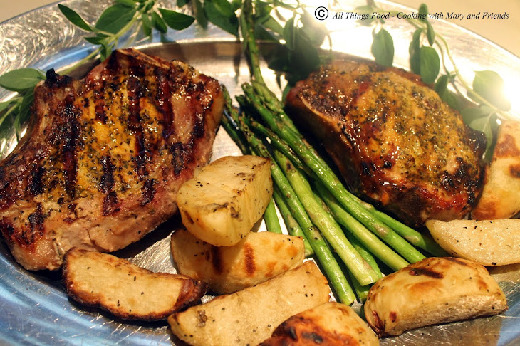 Spice Infused Grilled Pork Chops Recipe | Yummly