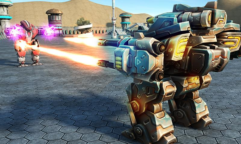 Mech Robot War 2050 Screenshot 2