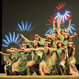 DANCERS by SANGEETA MENA  - People Musicians & Entertainers (  )