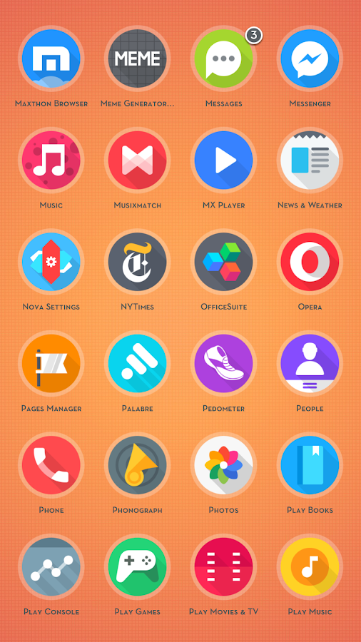Around - Icon Pack Screenshot 1