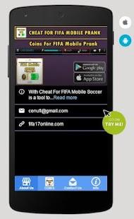 Coins For FIFA Mobile Prank APK for Bluestacks