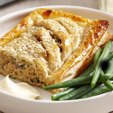 Salmon in Puff Pastry