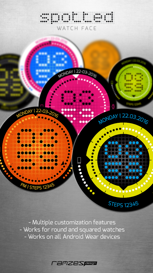 SPOTTED watch face Screenshot 7