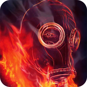 gas mask live wallpaper apk