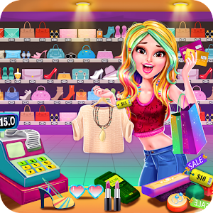 Shopping Mall Girl Cashier Game 2 - Cash Register For PC / Windows 7/8/10 / Mac – Free Download