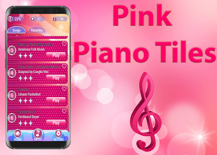 Game Pink Piano Tiles 2 APK for Windows Phone