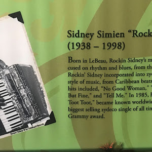 Born in LeBeau, Rockin' Sidney's musical background focused on rhythm and blues, from the 1950s to the 70s. Rockin' Sidney incorporated into zydeco almost every style of music, from Caribbean beats ...
