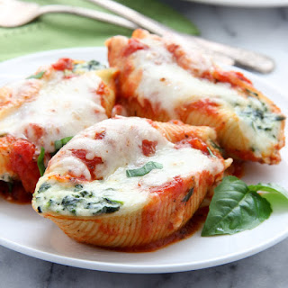 Spinach-Ricotta Stuffed Shells