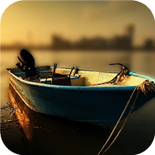 Fishing boats. Live wallpapers
