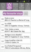 Screenshot of Valladolid Bus - Bus Pucela