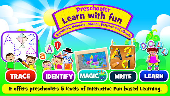 Preschooler Learn With Fun - screenshot